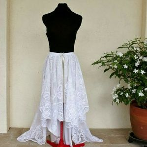*Lace Train Special Occasion Skirt*